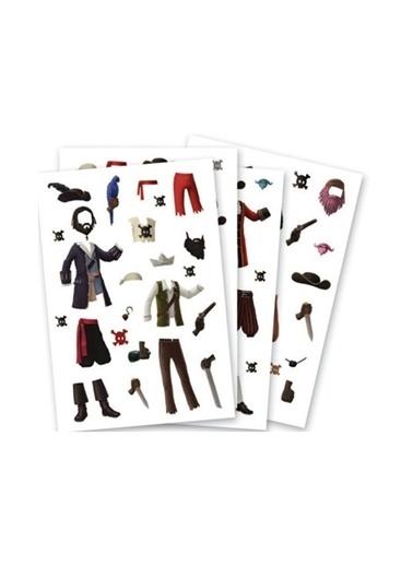 Djeco Djeco Kağıt Giydirme Seti / Pirates Pembe